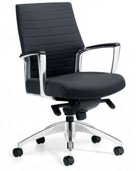 Global Accord 2671-2, Medium Back Knee Tilter Meeting Chair